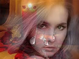 Статусы про слезы у девушек
